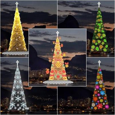 arbol de navidad luminoso