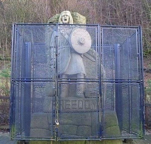 estatua william wallace freedom
