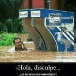 Mire, que se nos ha inundado la ciudad