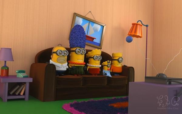 Los Simpson versión Minions