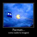 Pacman como nadie lo imaginó