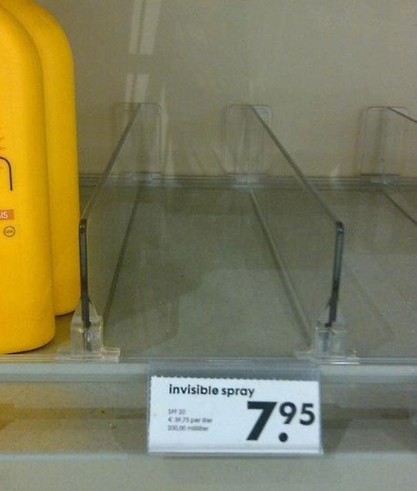 Oferta: spray invisible