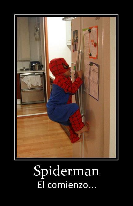 spiderman - el comienzo