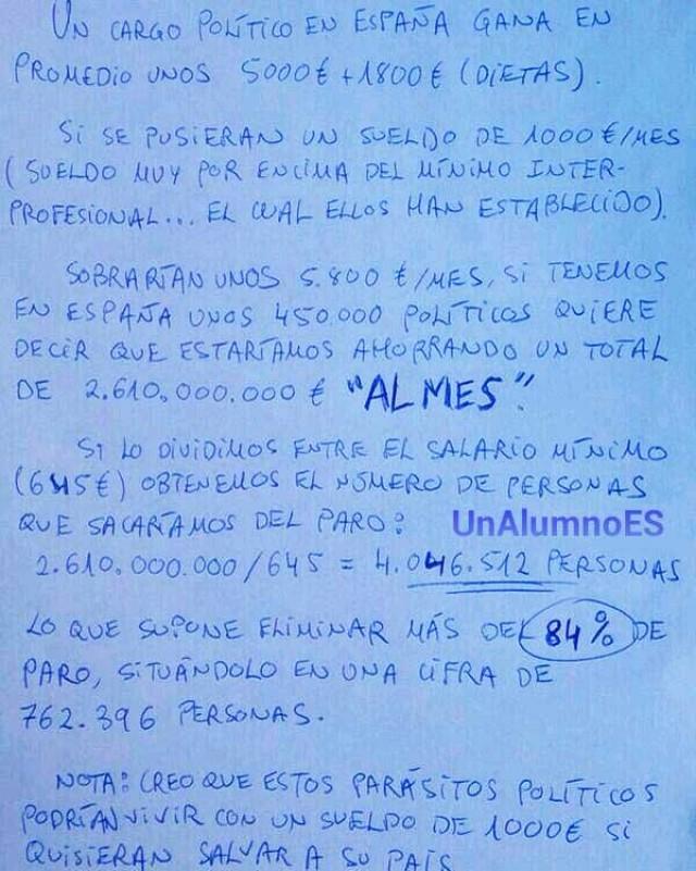 La solución a la crisis en España: así de simple