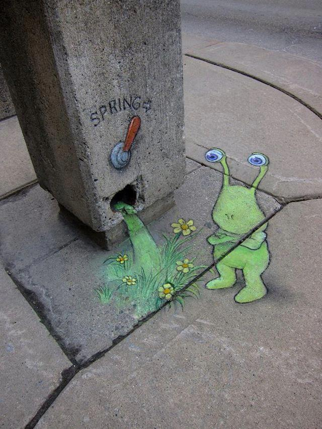 arte urbano manantial primavera spring