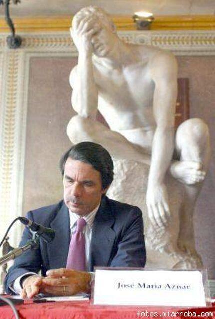 La mejor foto que le han sacado a Aznar