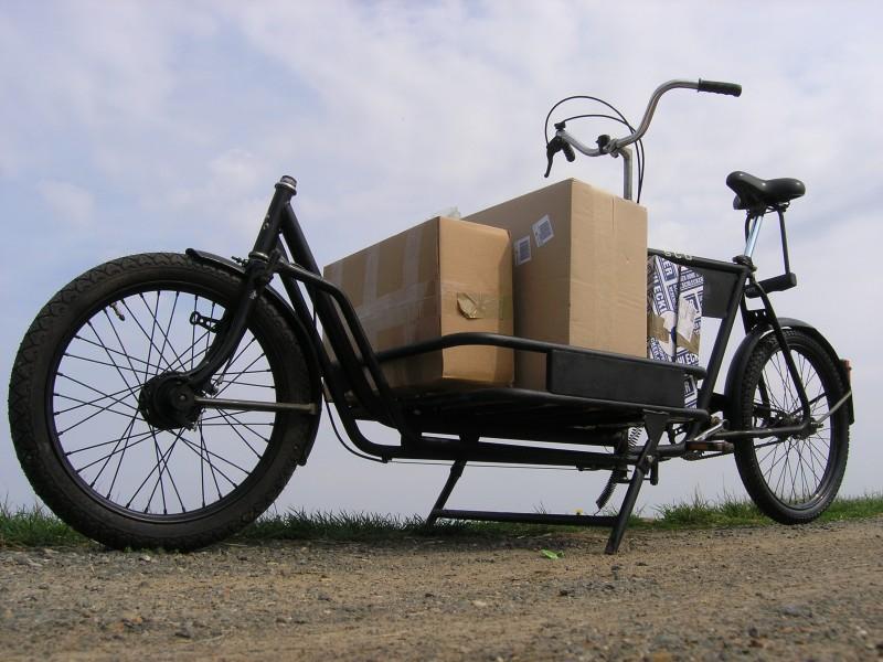 bicicleta con maletero