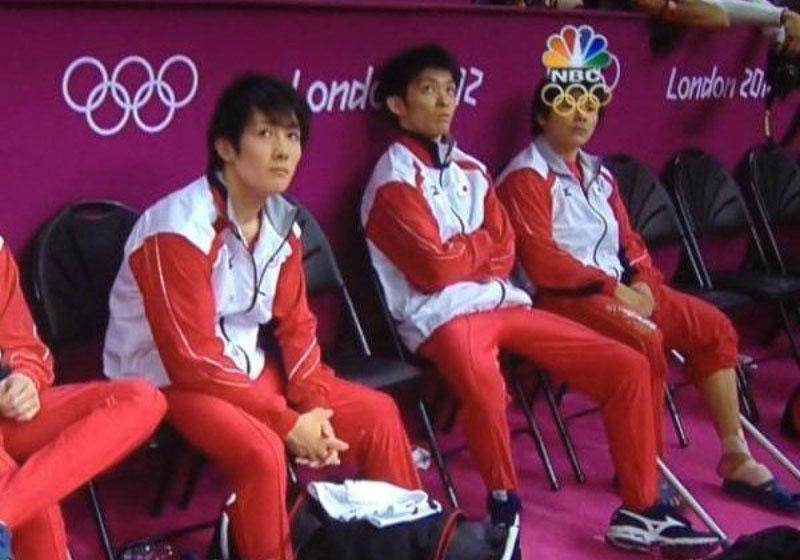 logo nbc olimpiadas gafas de atleta