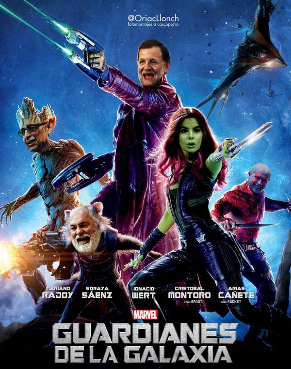Los nuevos Guardianes de la Galaxia