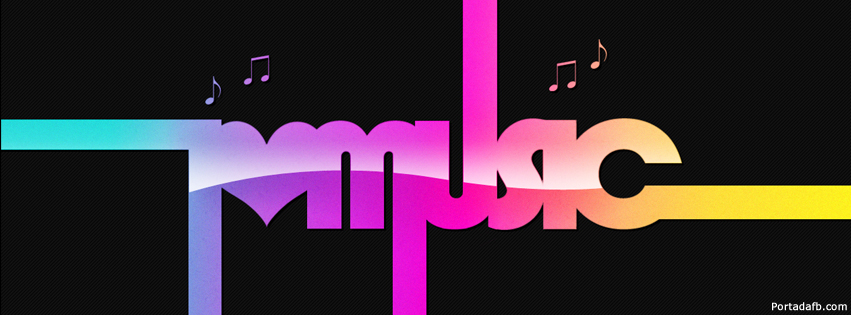 portada facebook - i love music