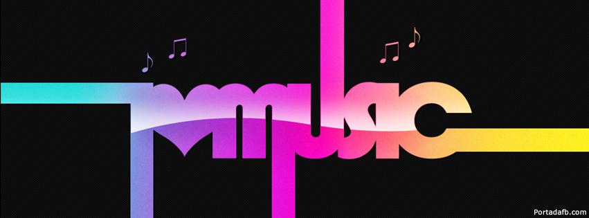 portada facebook - i love music