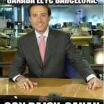 Con Aznar, ganaba el Real Madrid, con Zapatero, ganaba el FC Barcelona, ¿y con Rajoy?