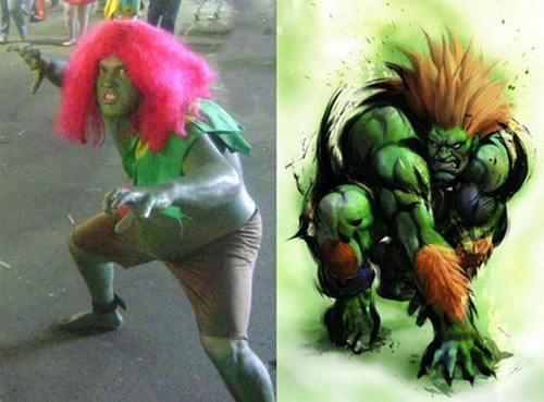 Espectacular cosplay de Bianka (Street Fighter)