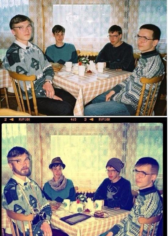 de nerds a hipsters