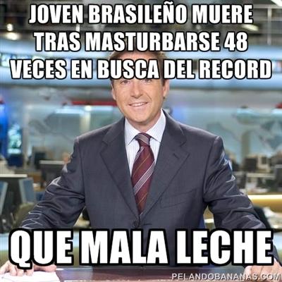 Matías Prats: Joven brasileño muere tras masturbarse 48 veces en busca del récord...
