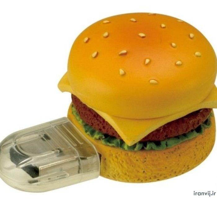 pendrive usb hamburguesa