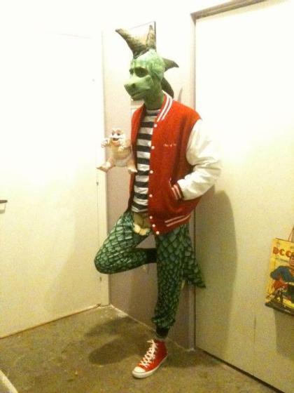 robbie - dinosaurios cosplay