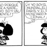 """Mafalda: """"No tengo que obedecer, soy un presidente"""""""