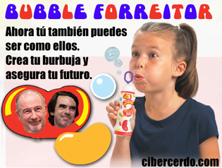 bubble forreitor  - crea tu burbuja y asegura tu futuro aznar rato