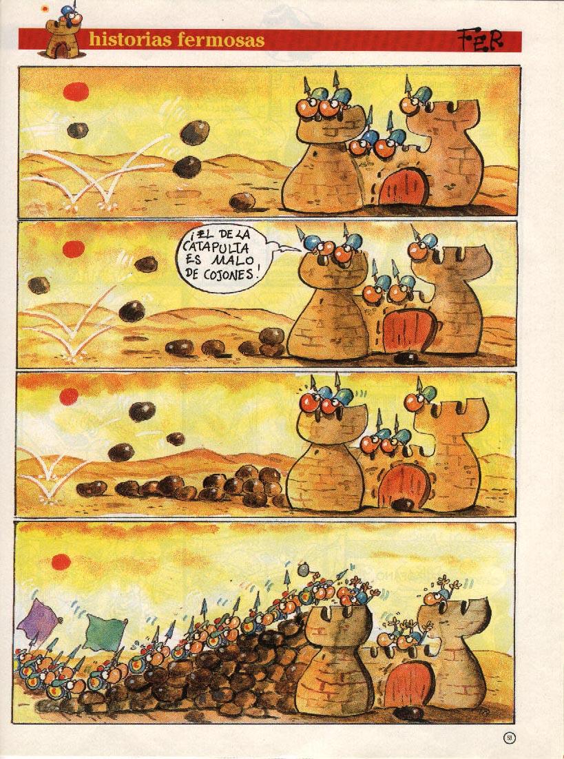 Historias Fermosas - ¡El de la catapulta es malo de cojones!