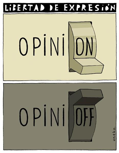 libertad de expresion opinion opinioff