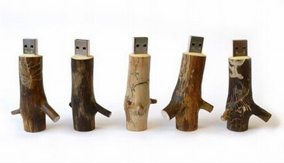 Pendrives troncos