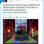 Privatización de la luz solar en España… ¿a qué me recuerda esto?