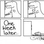 Problemas de los dinosaurios con la vida doméstica