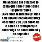 El doble rasero de la justicia en España