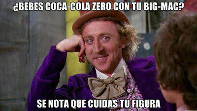 ¿Bebes Coca-Cola Zero con tu Big Mac? Se nota que cuidas tu figura