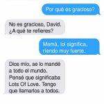 Madres vs Whatsapp: aprendiendo lo que significa LOL