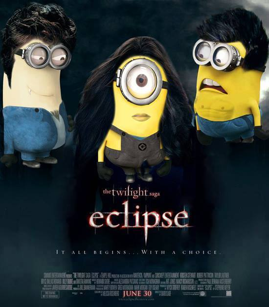 caratula pelicula eclipse parodia minions