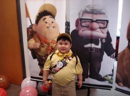 Parecidos razonables - Niño de la película Up