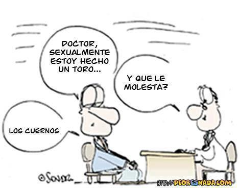 Cornudo en el médico