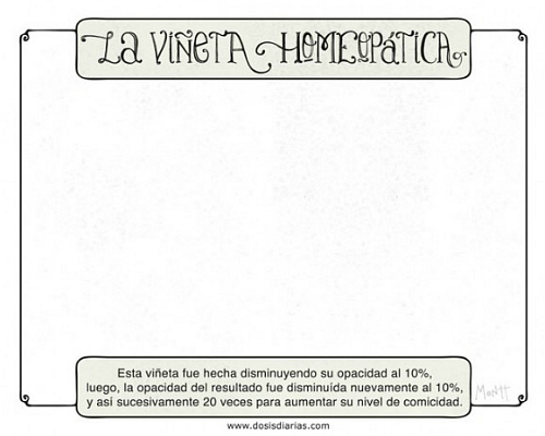 la viñeta homeopatica