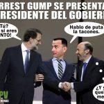 Forrest Gump se presenta a presidente del gobierno