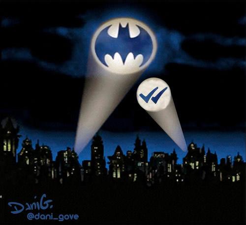 Batman y el doble check