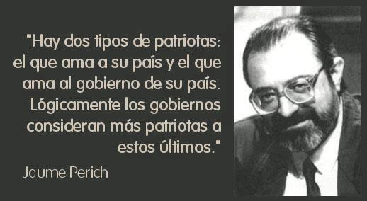 Los dos tipos de patriotas, según Jaume Perich