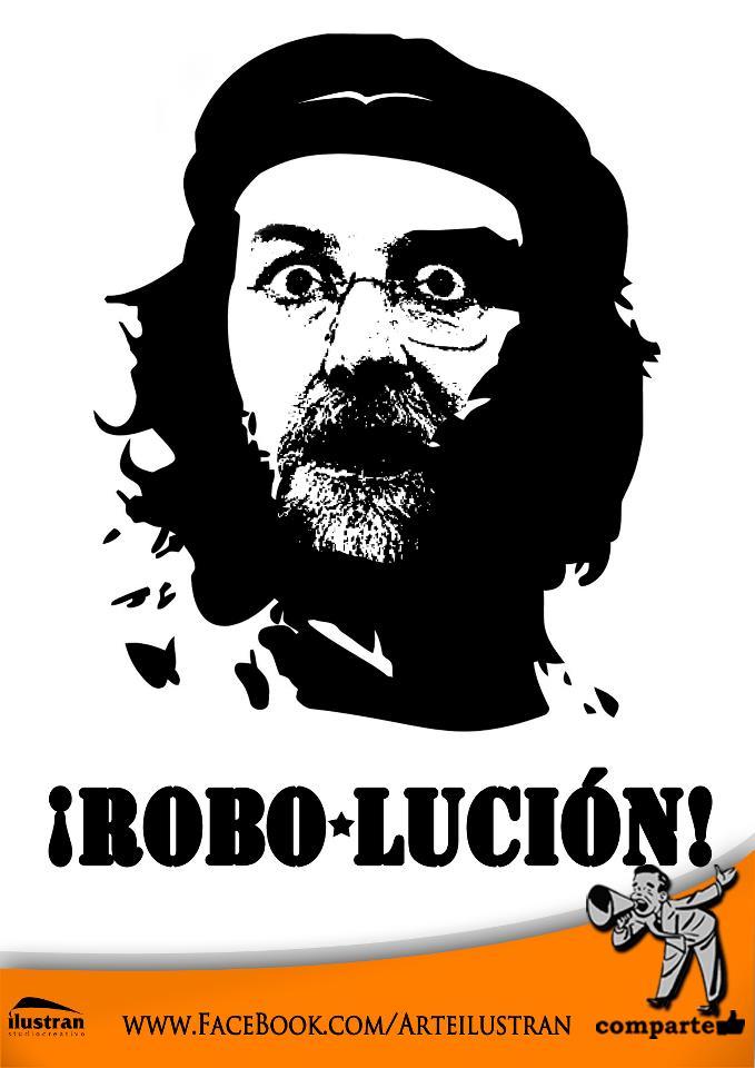 Mariano Rajoy: La Robo-Lución!
