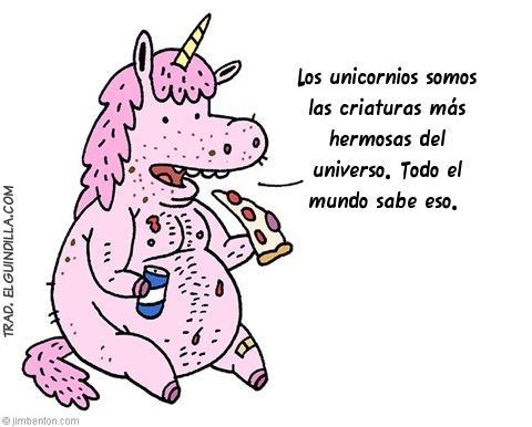 Todo el mundo sabe que los unicornios son las criaturas más hermosas del Universo