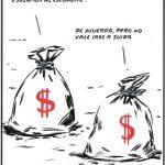 Dinero jugando al escondite