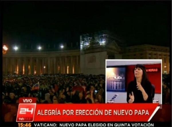 Titular: Alegría por erección de nuevo Papa