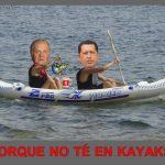 ¿Por qué no té en kayaks?