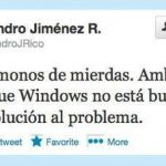 No te pases de listo, Windows