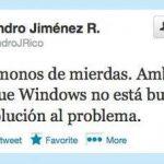 No te pases de listo, Windows