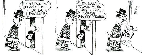 Mafalda y su tipo de familia