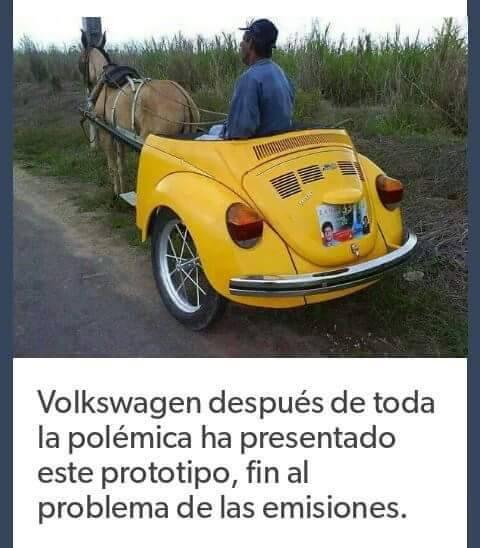 volkswagen, despues de toda la polemica, ha presentado este prototipo, fin al problema de las emisiones