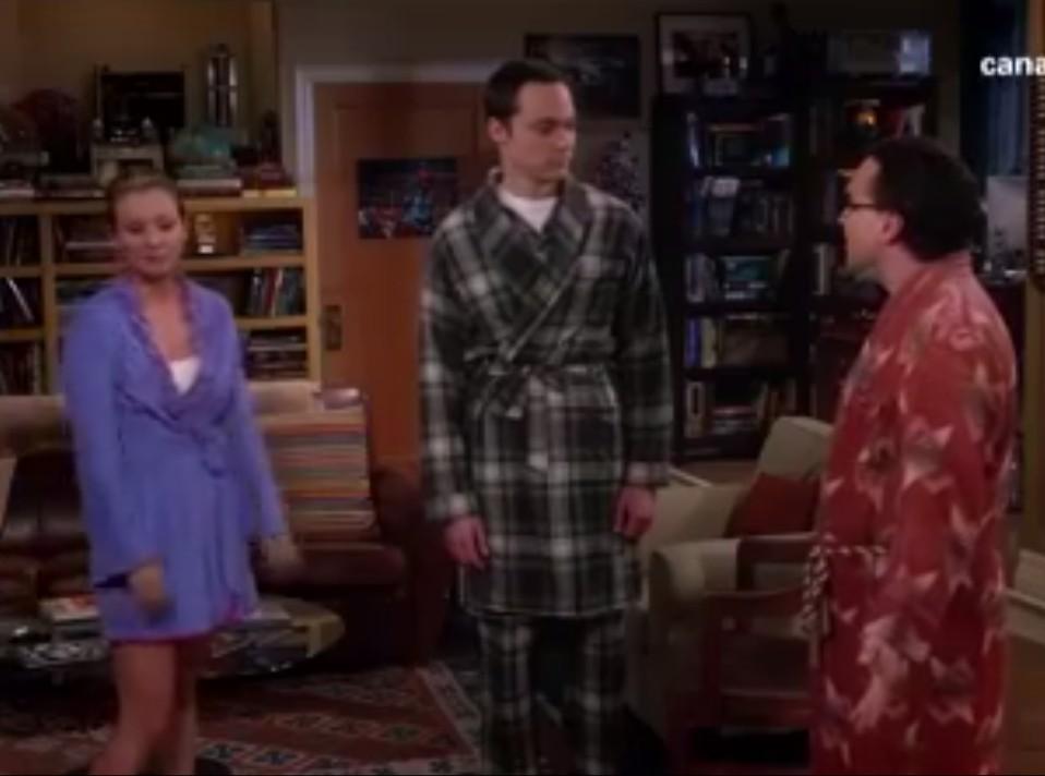 Cuando Sheldon encontró a Penny (Big Bang Theory)