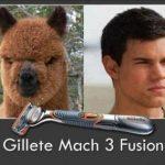 Gilette Match 3 fusión – Antes y después
