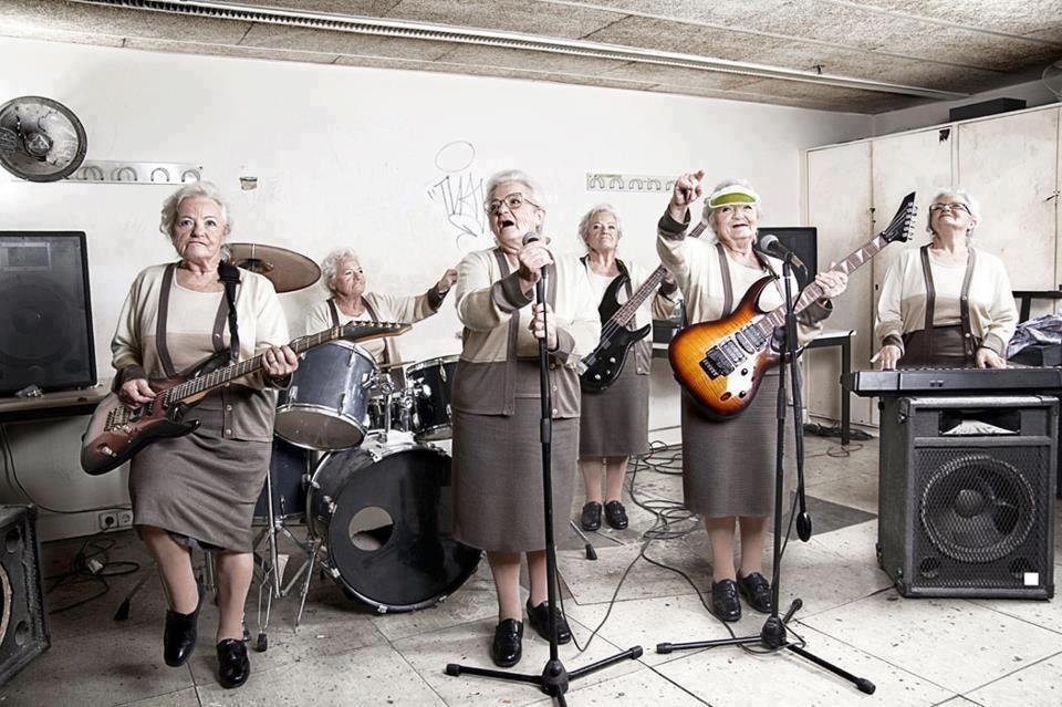 Nunca es tarde para montar una banda de rock